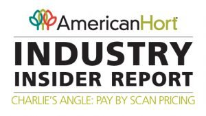AmericanHort Industry insider report logo - Charlie's Angle - pay by scanning pricing