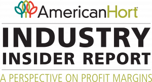 AmericanHort Industry insider report logo - A perspective on profit margins