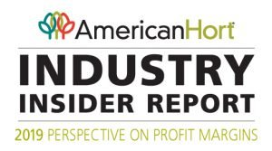 AmericanHort Industry insider report logo - 2019 perspective on profit margins