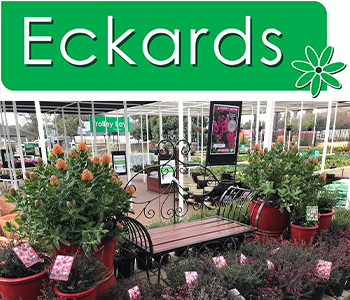 Eckards logo and greenhouse