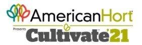 AmericanHort presents Cultivate 2021